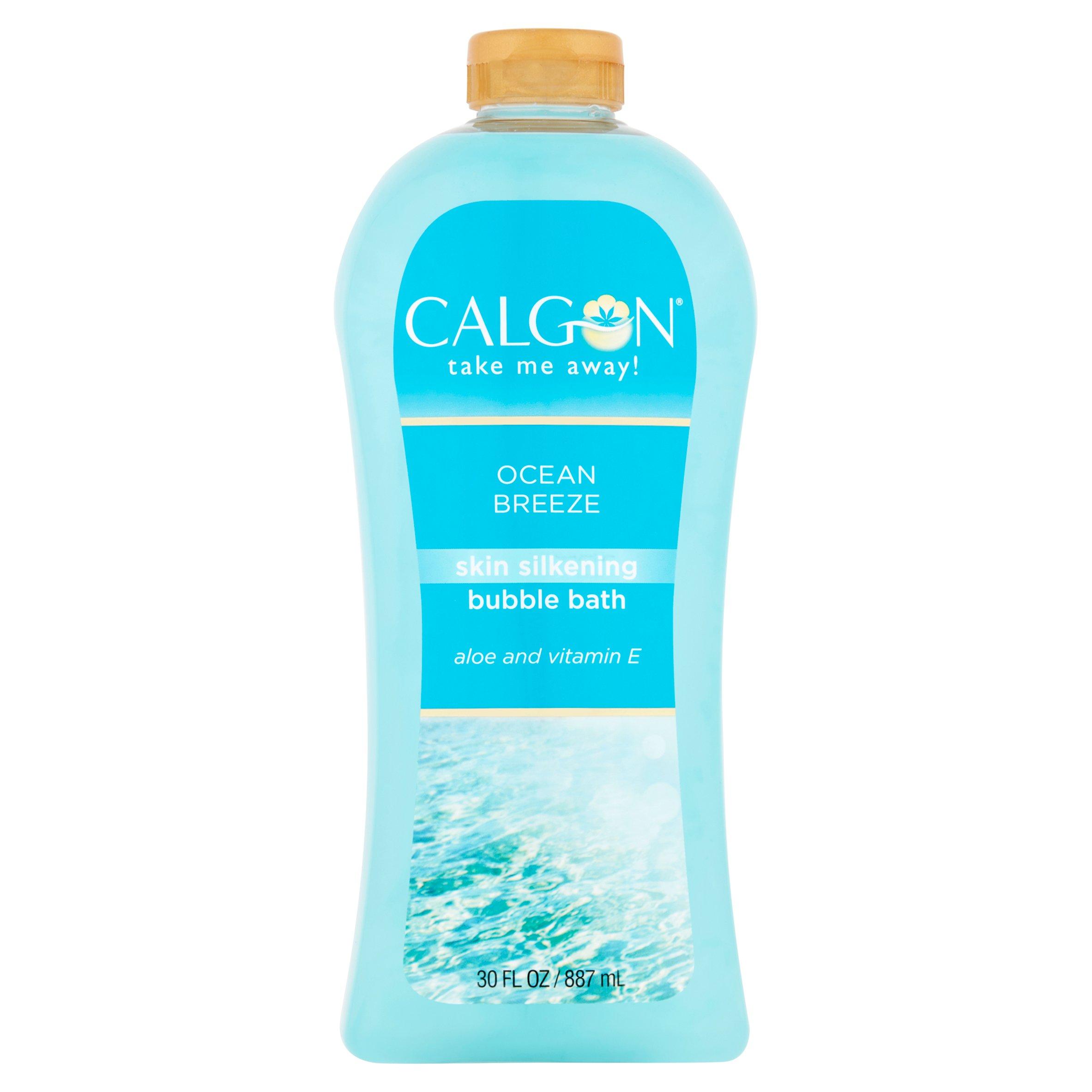 Calgon Ocean Breeze Moisturizing Bubble Bath, 30 fl oz
