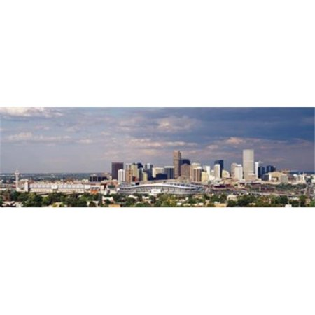 Skyline with Invesco Stadium  Denver  Colorado  USA Poster Print by  - 36 x 12 - image 1 de 1