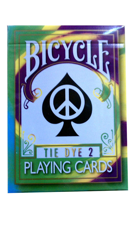 Rare Bicycle Tie Dye Deck Playing Cards Tye Die Magic Toy