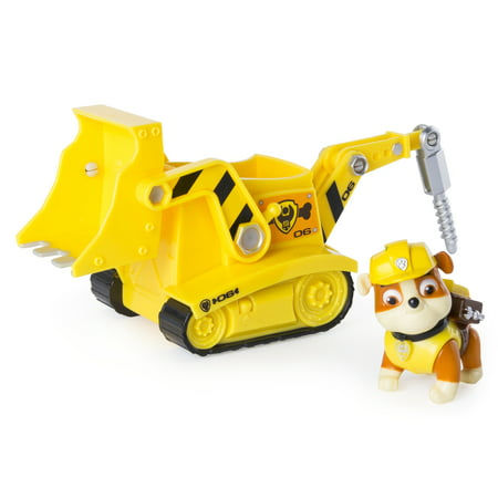 Paw Control (Paw Patrol - Rubble's Diggin' Bulldozer - Figure and)