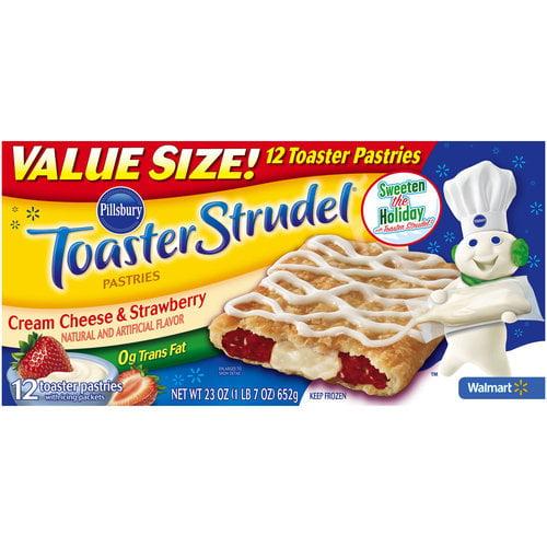 Pb Toaster Strudel Crm Chs Strwbery 12ct Walmart