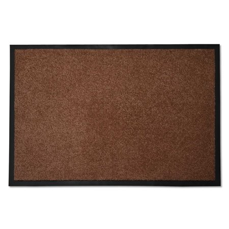 casa pura® Entrance Floor Mat | Absorbent & Non-slip | for Indoor & Outdoor Use - Brown - 36''x60''