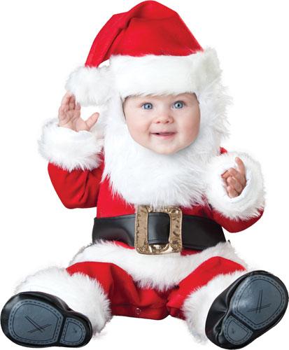 Baby Santa Holiday Christmas Halloween Costume