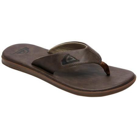 Quiksilver Men's Haleiwa Plus Nubuck Leather Sandals