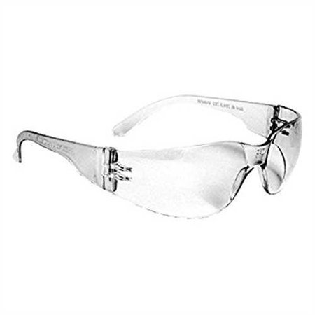 Radians MRS110ID Mirage Small Sleek Design Lightweight Men/Women Glasses with Distortion Free Clear (Clear Lens Cornering Light)