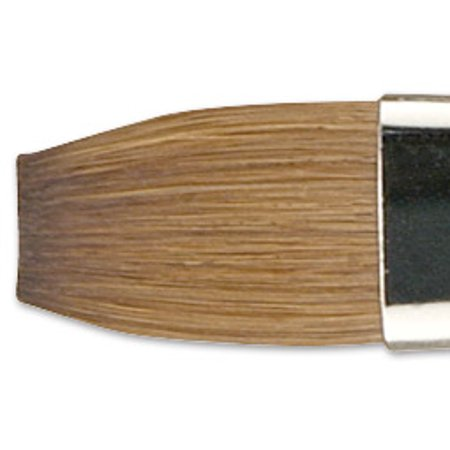 Old Brush (Old Holland Kolinsky Sable Brush - Flat, Long Handle, Size)