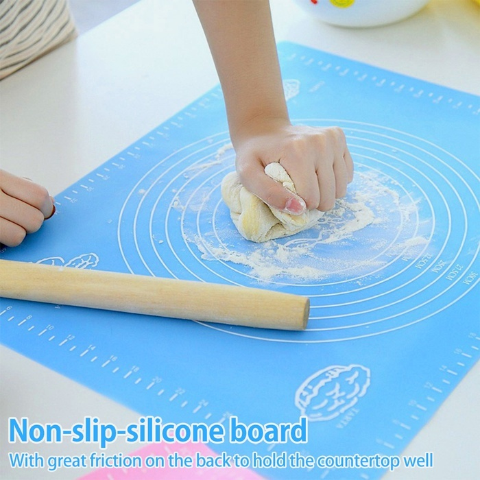 Non Stick Baking Silicone Mat Rolling Dough Fondant Icing Pastry Kitchen Tools