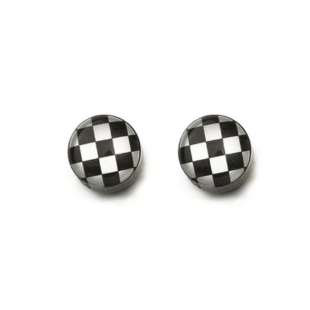 Korean Earrings Alloy Geometric Elements Round Earrings Gift Alloy 17040439 - image 2 de 3