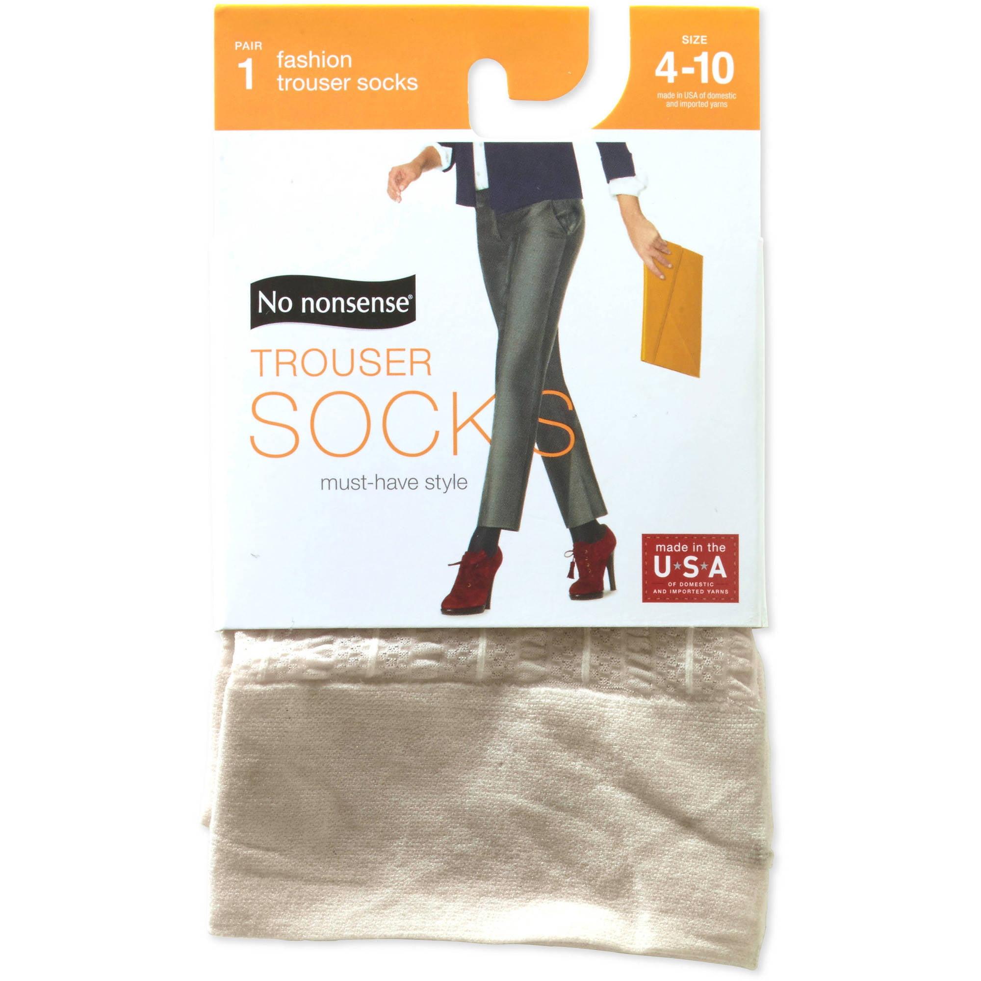 78a4bd9a618 Women s Sheer Stripe Latte Trouser Sock – Walmart Inventory Checker ...