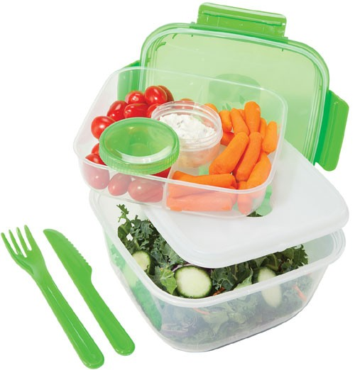 OGGI CHILL TO GO SET-GREEN LIDS 5143.11