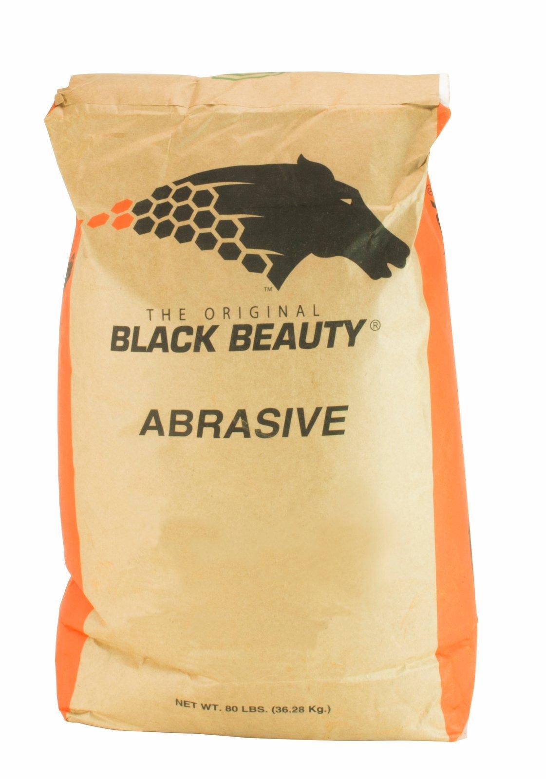25lbs Black Beauty® Medium Glass Media Abrasive 12//30 Mesh for Sandblast Cabinet