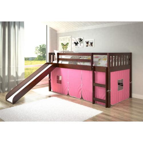 Donco Kids Mission Twin Low Loft Bed