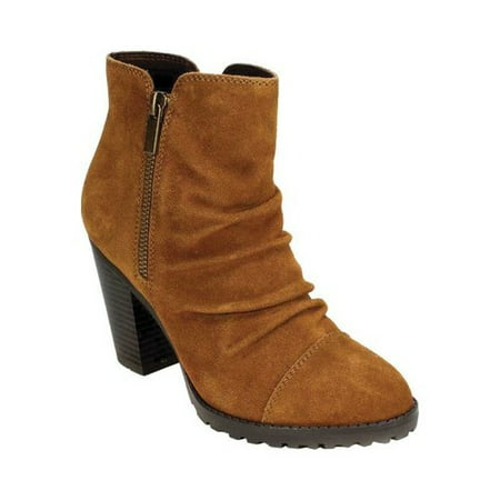 - Women's White Mountain Taft Slouch Boot Whiskey Suede 8.5 M