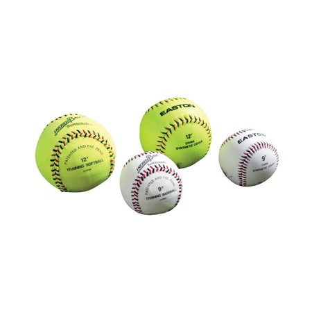 Easton Baseball Softball 008236 Easton 12 in. Softtouch Incrediball, Neon Yellow