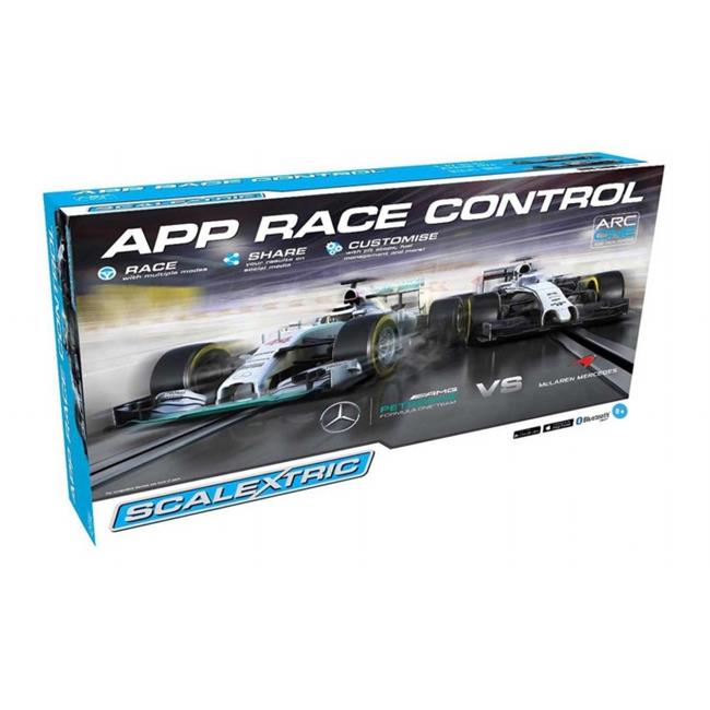 Scalextric C1346T APP Race Control Formula One 1-32 ARC One Slot Car Race Set, Age 8 Plus