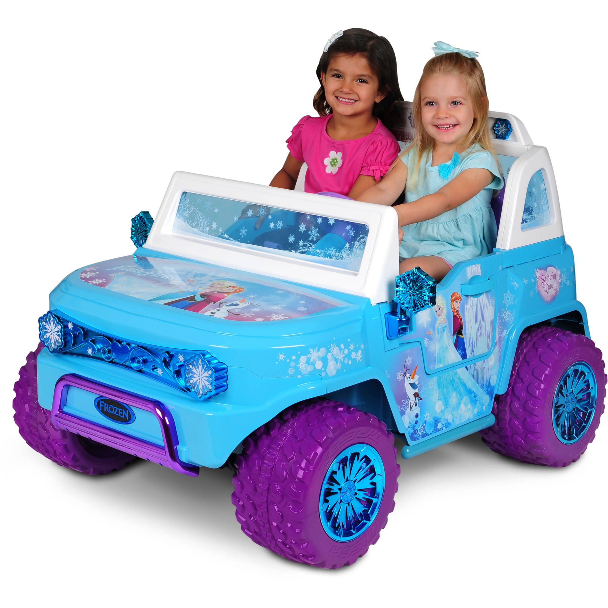 Disney Frozen SUV 12V Battery-Operated Ride-On