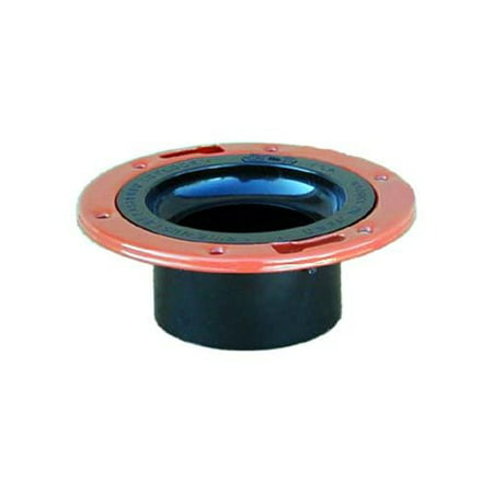 Adjustable Flange Bearings - GenovaProducts ABS-DWV Closet Flange with Adjustable Metal Ring