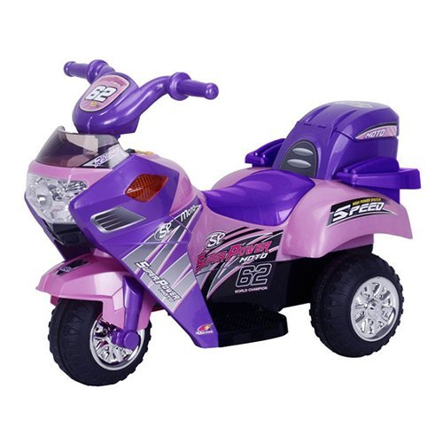 Best Ride On Cars Lil Motorcyle Battery Powered Riding Toy - Pink