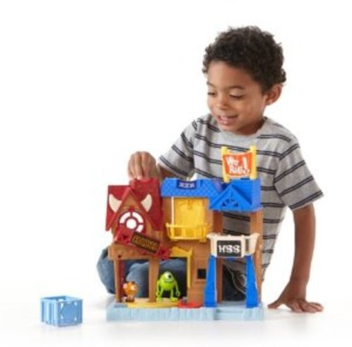Fisher Price IMaginext Monsters University University Row Play Set by Fisher-Price