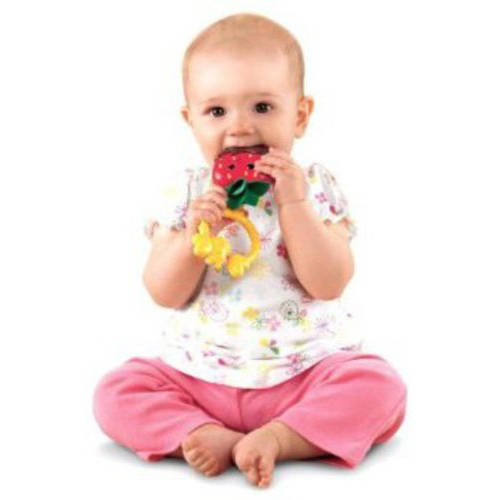Fisher-Price Sweet Treats Strawberry Teether