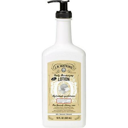 J.R. Watkins Daily Moisturizing Lotion, Coconut Milk & Honey, 18 Oz Pump ()