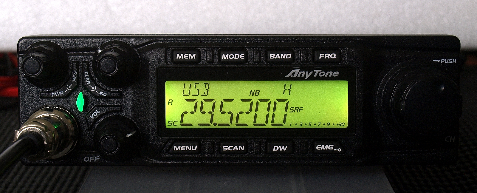Click here to buy Anytone AT6666 All Mode 10 meter mobile Radio AM FM USB LSB CW PA All Mode! by Anytone.