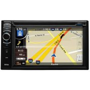 Boss Audio BV9386NV Double-DIN In-Dash DVD Receiver with Navigation, Full Apple iPod Control and Bluetooth