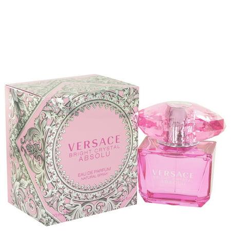 Bright Crystal Absolu by Versace Eau De Parfum Spray 3 oz for