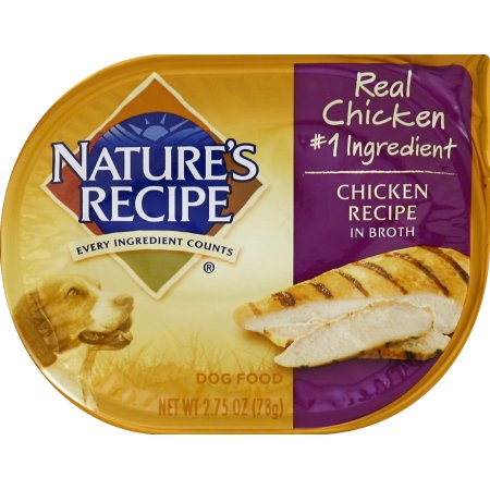 (12 Pack) Nature's Recipe Chicken Recipe In Broth Wet Dog Food, 2.75-Ounce
