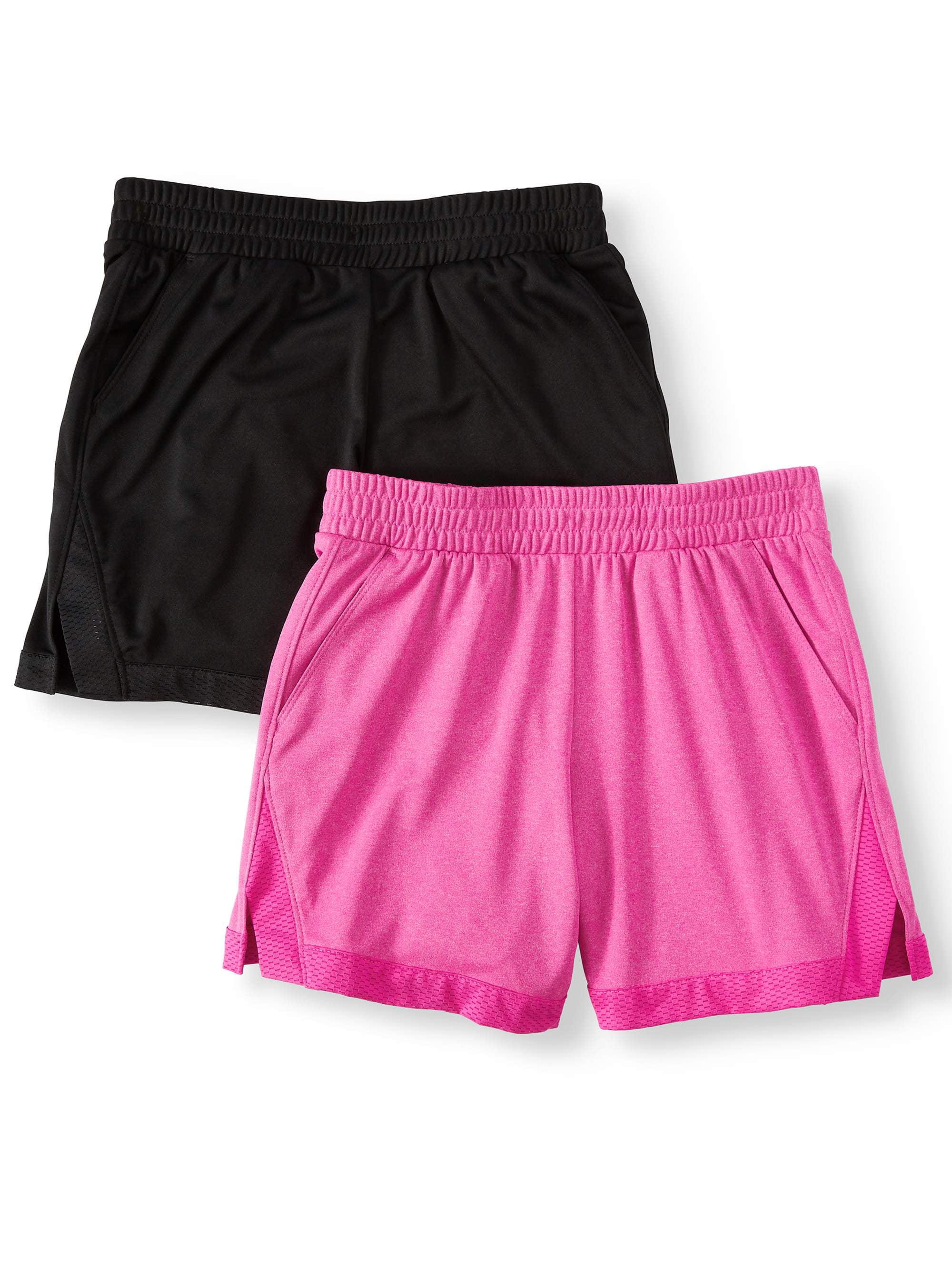 Athletic Works Athletic Works Active Mesh Shorts 2 Pack Little Girls Big Girls Walmart Com Walmart Com [ 2667 x 2000 Pixel ]