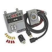 RELIANCE 31406CRK Manual Transfer Switch,60A,125/250V