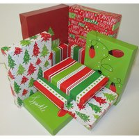 Holiday Time 10pk Rgw Sparkle Gift Box