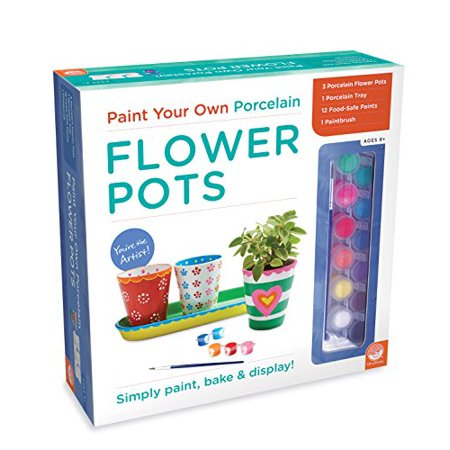 Paint Your Own Porcelain, Flower Pots