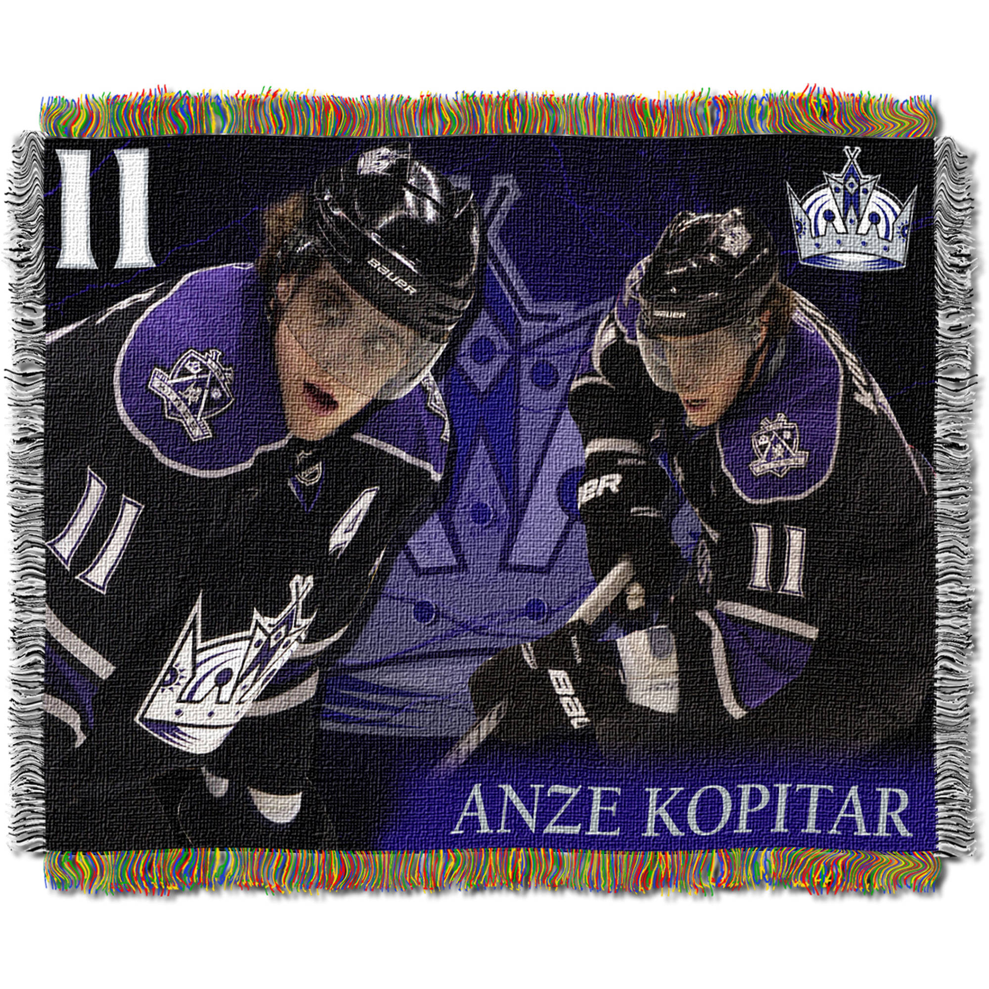 "NHL 48"" x 60"" Players Series Tapestry Throw, Anze Kopitar"