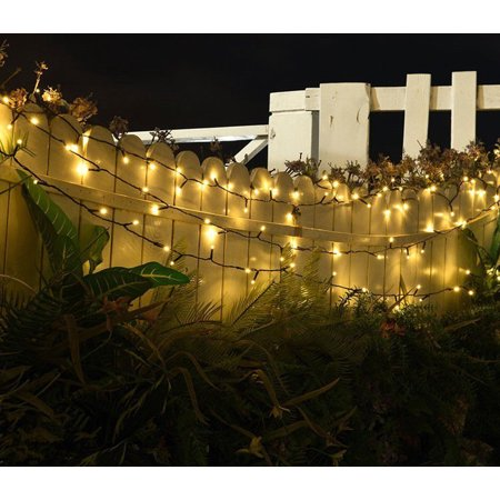 (2-Packs)Bangde Solar Outdoor Lights 200 LED Halloween Fairy String Lights for Gardens,Homes,Wedding,Party,Waterproof - image 5 de 15
