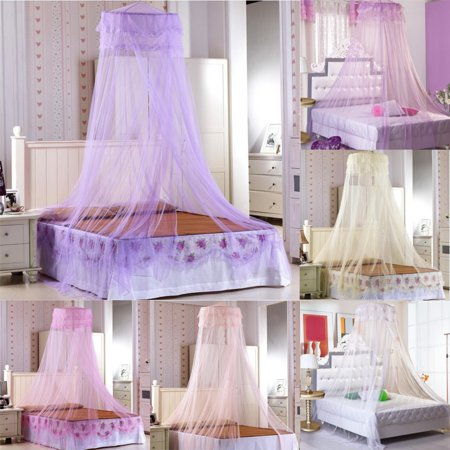 Mosquito Net Netting Bed Home Canopy Curtain Dome Queen Size Sleep Protection Tent](Bed Canopy Tent)