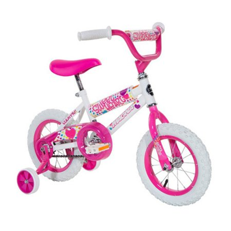 12u0022 Magna Girls Sweetheart Bike, White