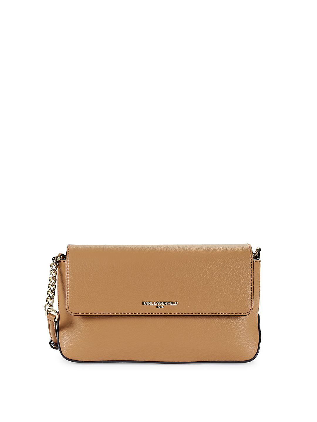 Iris Leather Flap Crossbody