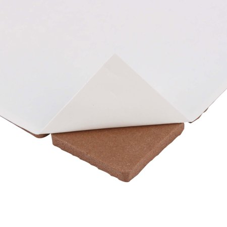 Table Chair EVA Square Furniture Feet Pads Cover Cushion Brown 25 x 25mm 90pcs - image 3 of 4