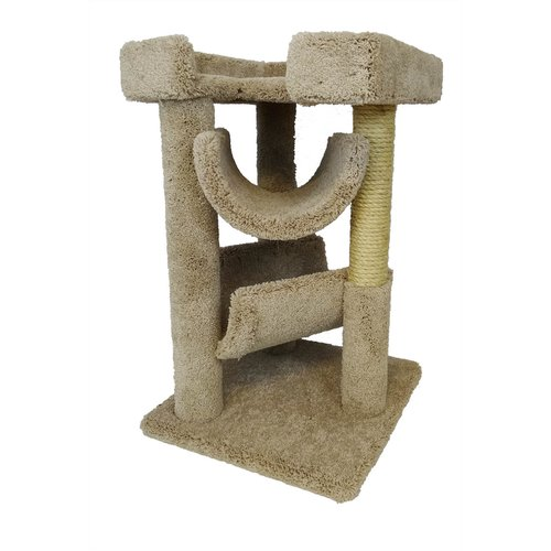 New Cat Condos 33'' Premier Cat Scratching Tree