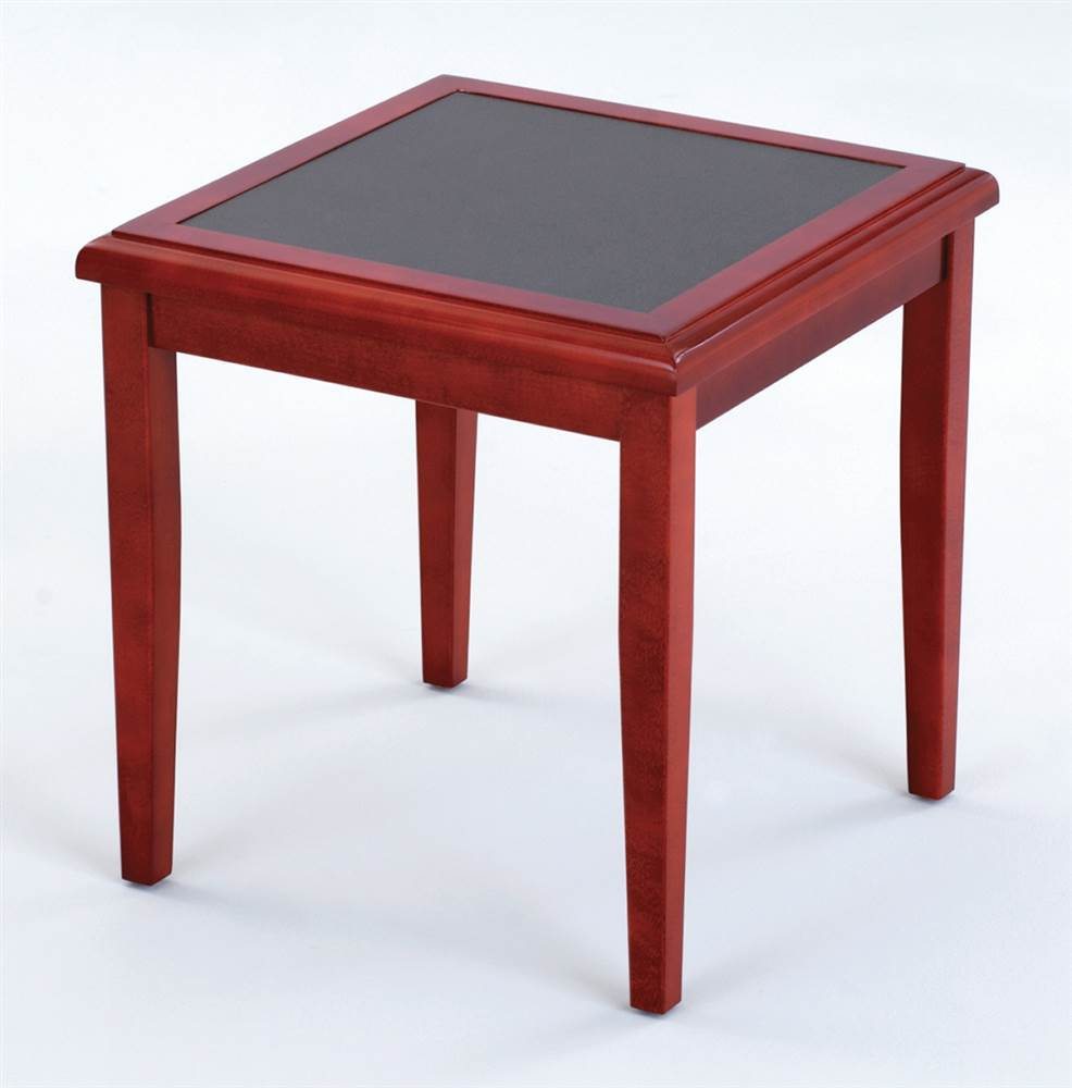 End Table - Brewster (Black, Charcoal Matrix)