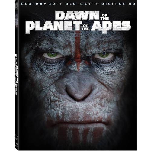 Dawn Of The Planet Of The Apes (3D Blu-ray   Blu-ray   Digital HD) (With INSTAWATCH) (Widescreen)