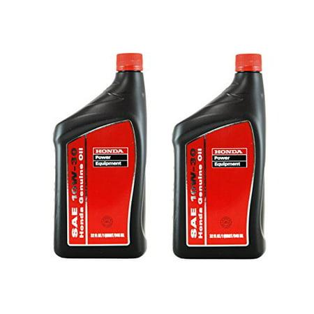 (2Pack) Honda 08207-10W30 PK2 Motor Oil
