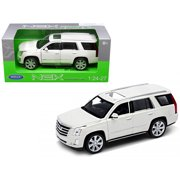 2017 Cadillac Escalade with Sunroof White 1/24-1/27 Diecast Model Car by Welly
