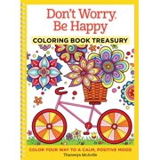 Don't Worry Be Happy Coloring Book Treasury for Adults