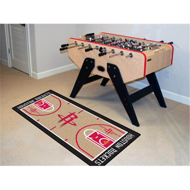 FANMATS 9488 Houston Rockets NBA Court Runner 24x44