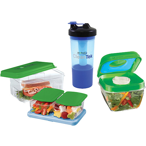 Fit & Fresh Healthy Food Combo Container Set