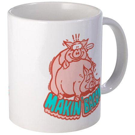 CafePress - Makin Bacon Pigs Mug - Unique Coffee Mug, Coffee Cup CafePress