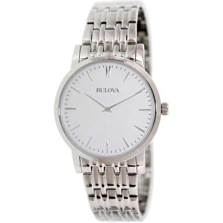 Bulova Men's 96A115 Silver Stainless-Steel Quartz Fashion Watch