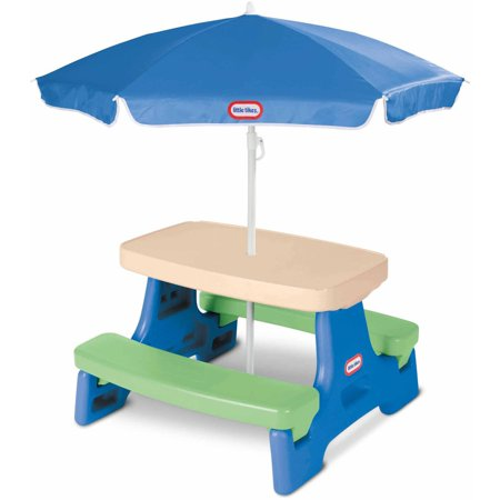 Little Tikes Easy Store Jr  Play Table With Umbrella